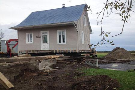 Levage de maison en Outaouais - Levage de Maison Roberts Desjardins