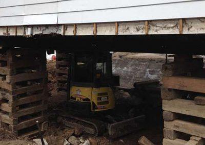 Soulèvement de maison et bâtiment sur la Rive-Nord - Levage de maison Robert Desjardins à Mirabel